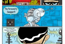 Dexter's Lab / The Personality Swapper | Rule 34 Comics